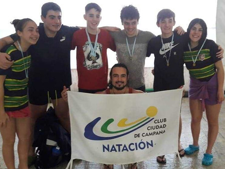 Natación: 5 podios y 49 puntos para los promocionales del C.C.C. en Beccar