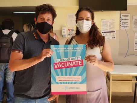 """""""Celebramos la llegada de la vacuna, pero tenemos que seguir cuidándonos"""""""