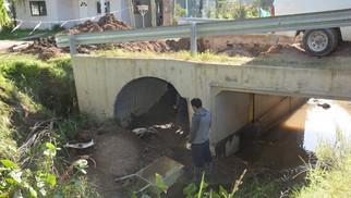Otamendi: reparan por completo el puente de Chapuis y Laplume