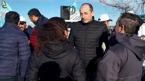 Marco Colella: ''Acompañamos a los vecinos despedidos de Atucha''
