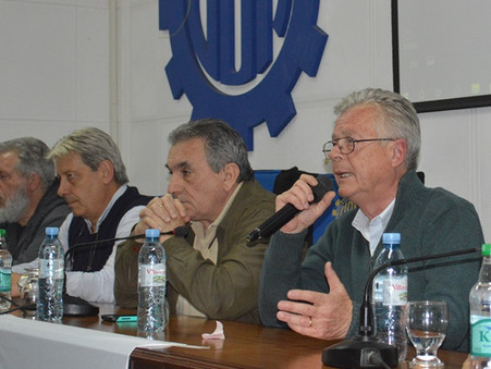 Rubén Romano reafirmó su compromiso con la creación de empleo
