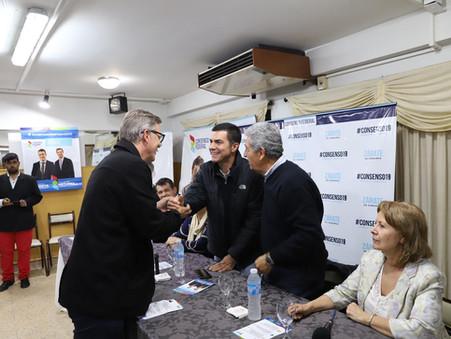 Candidatos de Consenso Federal acompañaron a Juan Manuel Urtubey en su visita a Zárate