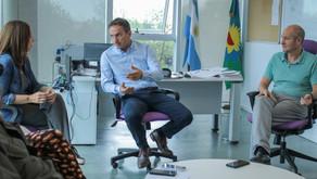 Abella destacó el trabajo del equipo de Planeamiento que está concretando la obra de Costanera