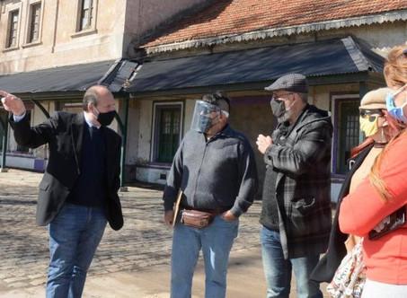 Integrantes de la mesa de desarrollo turístico recorrieron la Costanera