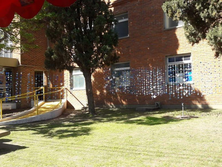 Mil grullas para abrazar al Hospital, una iniciativa de la Agrupación Jorge Varela