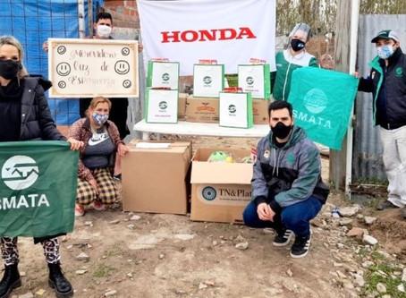 Mes de las infancias en Honda Motor de Argentina