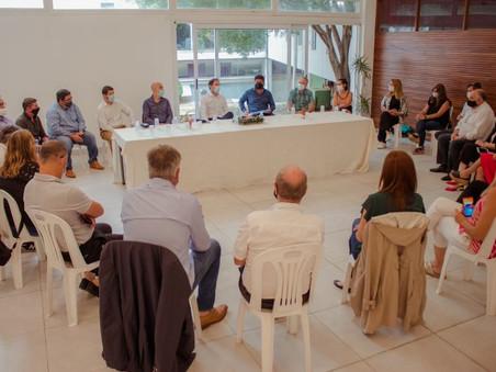 El Intendente encabezó una reunión ampliada con su equipo de gabinete y concejales