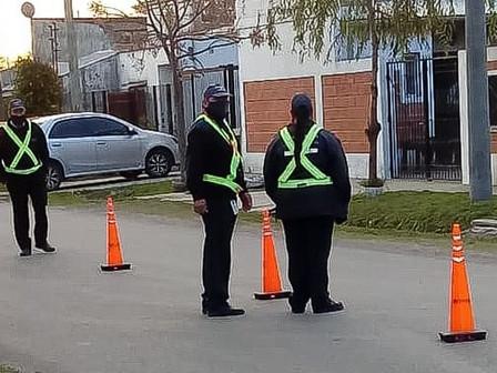 Se realizó un operativo de control y prevención en el barrio Dallera