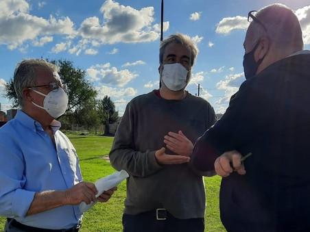 Encabezado por Rubén Romano, el Plan Vacunate! llegó al barrio Lubo