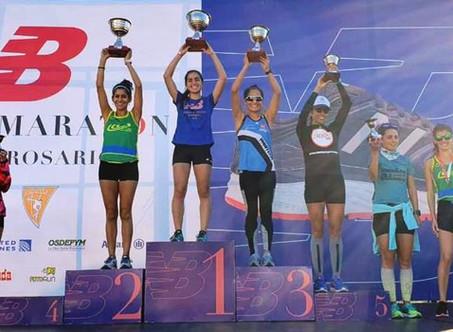 Excelentes actuaciones de runners campanenses en Rosario