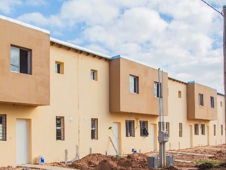 Plan 104 viviendas: se realizará hoy la primera entrega a adherentes