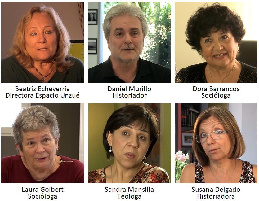 Los especialistas entrevistados
