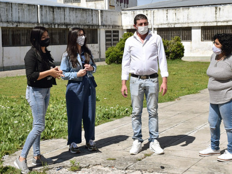 Casaretto, Amaya y Medina destacaron las reformas del CIC del Lubo
