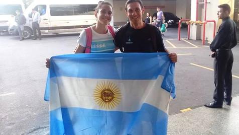 Agostina Ríos competirá en la 1° edición de los Juegos Universitarios Panamericanos de San Pablo