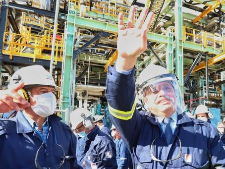 """Alberto Fernández inauguró la planta de diésel premium en Axion: """"Son dólares que dejan de irse"""""""