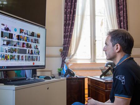 Abella participó de una reunión con Axel Kicillof para evaluar a situación epidemiológica