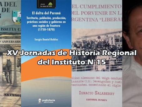 Un nuevo encuentro de las Jornadas de Historia Regional