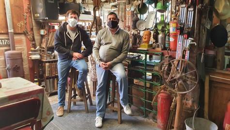 Alejo Sarna continúa acompañando la cultura local