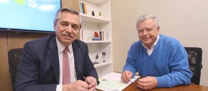 """Alberto Fernández: """" Necesitamos que Rubén Romano sea el Intendente de Campana"""""""