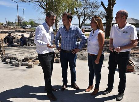 """Costanera: """"El intendente Abella está concretando una obra histórica"""""""