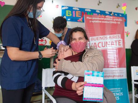 65 mil bonaerenses fueron inmunizados sin turno durante las jornadas provinciales de vacunación