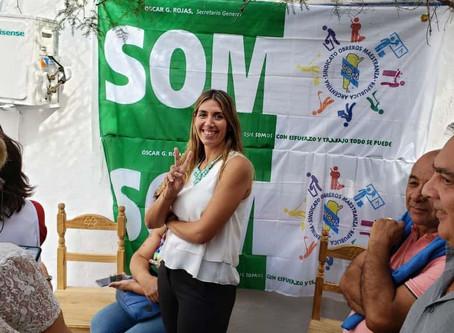 Se inauguró la Secretaría de la Mujer en el S.O.M., con la presencia de María Eugenia Giroldi