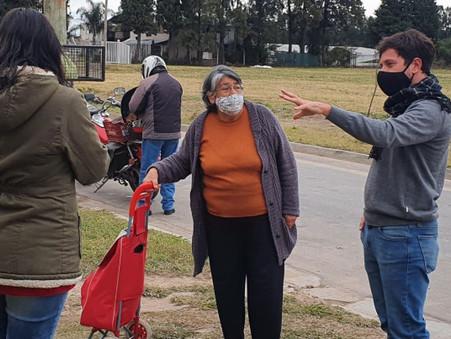 Vecinos del barrio 104 Viviendas se organizan ante la inseguridad