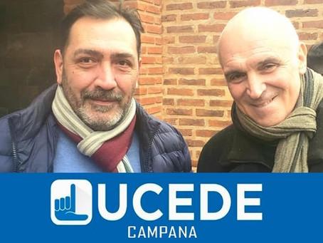 La UCeDé, con Paulino Cuenca a la cabeza, presentó su lista de precandidatos a concejales