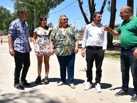 """""""Estamos orgullosos de ver que el intendente Abella concrete esta obra histórica"""""""