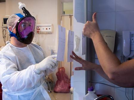 """""""Los trabajadores de la salud estamos dando todo de nosotros"""""""