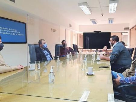 Reunión de Jóvenes empresarios en el Ministerio de Trabajo