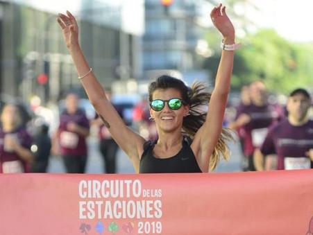 Noelia Guillermín y Yamila Benitez hicieron podio en la primera fecha del Circuito de las Estaciones