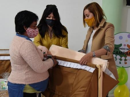 Alonso y Carrizo siguen fortaleciendo políticas sociales de inclusión