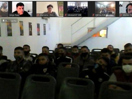 """En la cárcel de Campana debatieron sobre el film """"Mía"""" en el Día Internacional contra la Homofobia"""