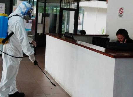 Desinfectaron cárceles y dependencias del Servicio Penitenciario Bonaerense
