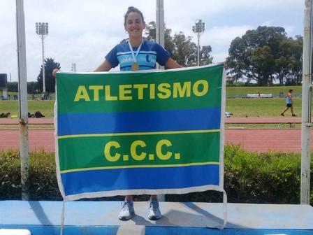Un título y cinco podios para el Club Ciudad en el Argentino de Atletismo U20 y U23 de Mar Del Plata