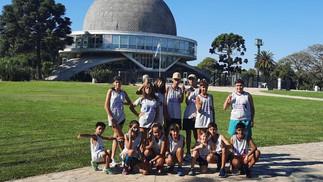 La Escuela Municipal de Atletismo visitó el Parque Chacabuco