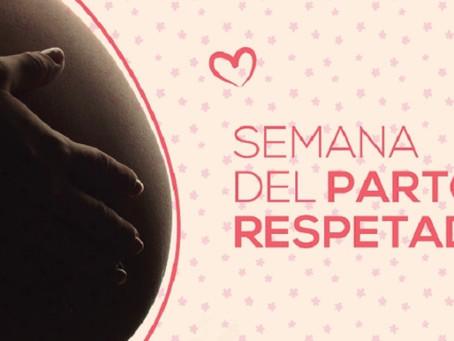 Angelica Torreyra destacó la repercusión que tuvo la semana mundial del parto respetado