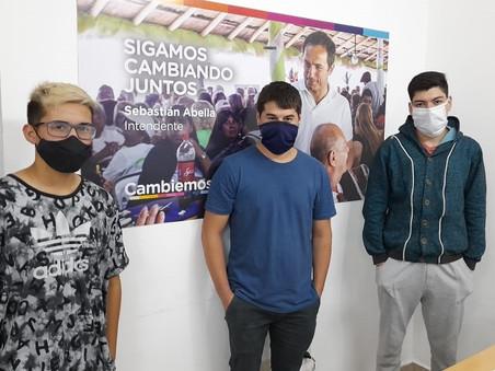 La juventud del PRO Campana también criticó el acompañamiento a las familias de la toma de Guernica