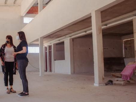 Avanza la construcción de la Escuela Secundaria Nº 14