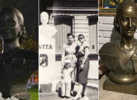 Historias de Campana: Los bustos de Eva Perón