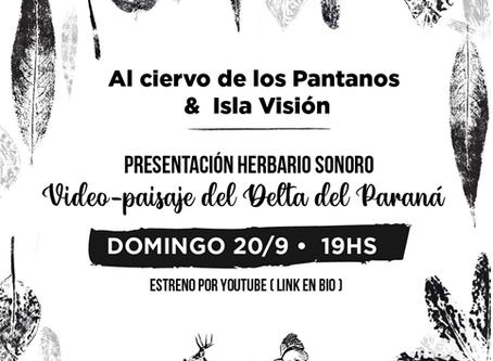 """El domingo se presenta la la pieza sonora colectiva: """"Al ciervo de los pantanos"""""""