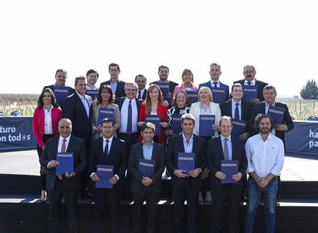 Alberto Fernández presentó el proyecto Democracia Federal para avanzar en la integración del país