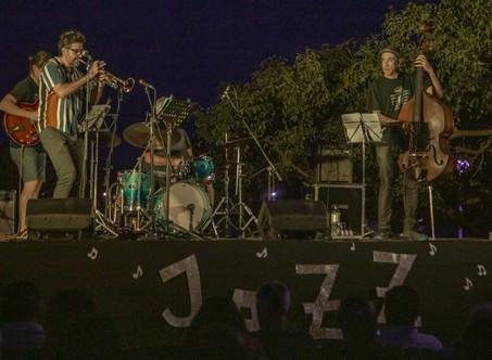 Al ritmo del jazz, Campana vivió una noche mágica junto al río