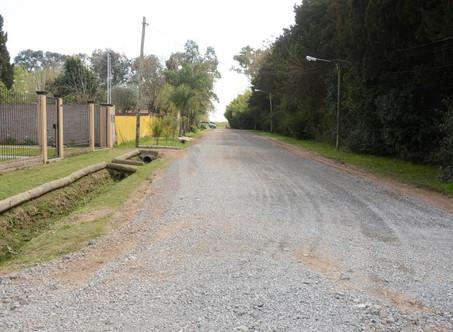 El Municipio completó los trabajos de mejoras en las calles de La Lucila