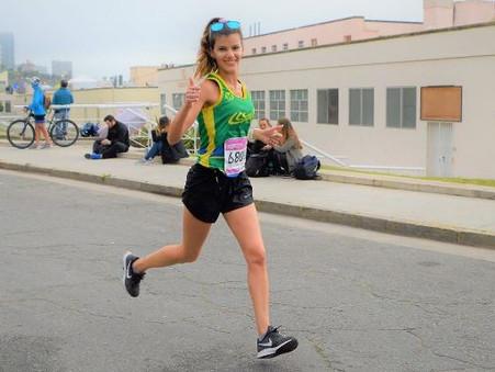Los runners del Club Ciudad dejaron su huella en la maratón New Balance de Mar del Plata