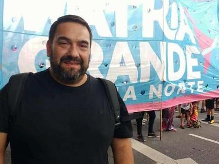 Entrevista a Mauricio Villanueva, referente de Nueva Mayoría en el Frente Patria Grande Campana
