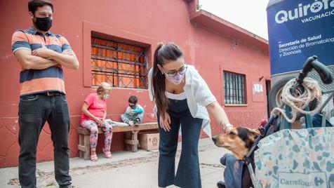 """Casaretto: """"el Quirófano Móvil refleja el compromiso del Municipio con el bienestar de las mascotas"""""""