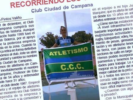 El C.C.C. en la última edición de la Revista del Atletismo Argentino