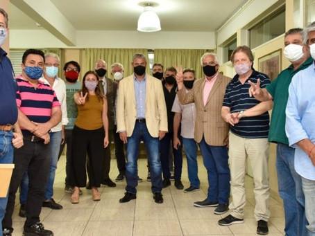 Ferraresi se reunió con la Corriente Federal de los trabajadores